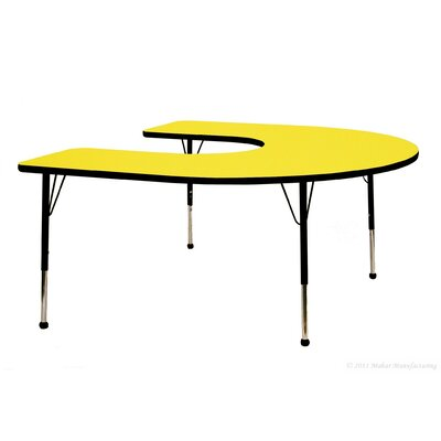 "Mahar 66"" x 60"" Horseshoe Table"