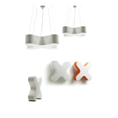LZF X-Club 2 Light Wall Sconce