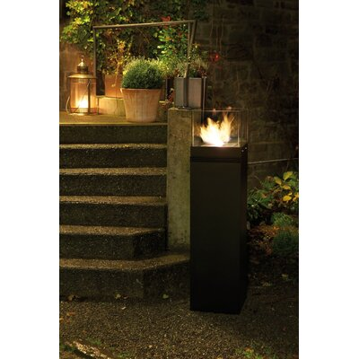 Hi Cube Fire Dance Tower Bio Ethanol Indoor/Outdoor Fireplace