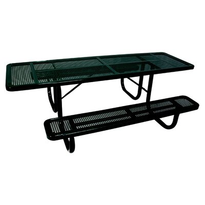 Ultra Play Extra Heavy Duty ADA Picnic Table with Perforated Pattern
