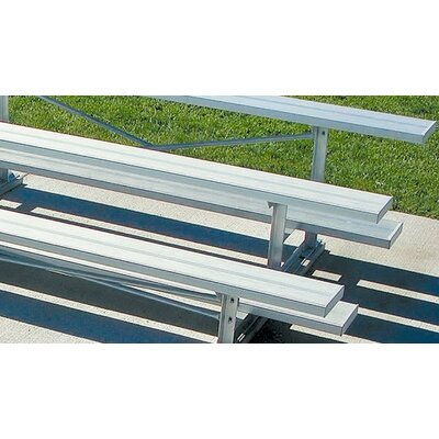 Ultra Play Aluminum Three-Row Bleacher