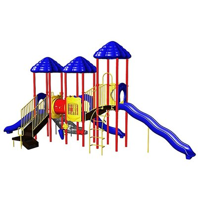 Ultra Play UPlay Today UP & Away with Crawl Tunnel & Standard Rung Climber with Ultra Mountain Climber