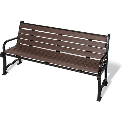 Ultra Play UltraSite Charleston Series Recycled Plastic Bench