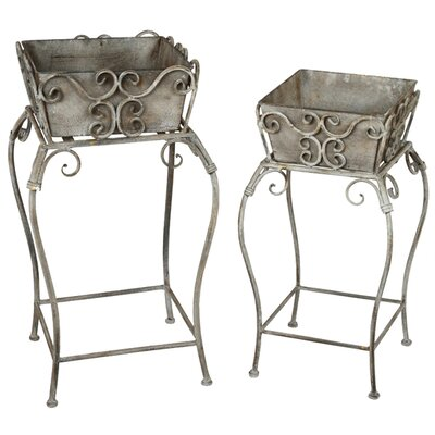 Privilege Multi-Tiered Plants Stand (Set of 2)