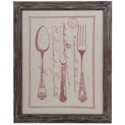 Vintage Culinary Wall Decor