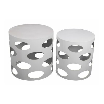 Privilege 2 Piece End Table Set