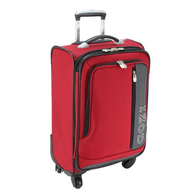 "Izod Luggage Izod Journey 2.0 20"" 4 Wheeled Expandable Wheelaboard Suitcase"