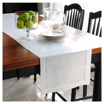 <strong>Cathys Concepts</strong> Linen Hemstitch Table Runner