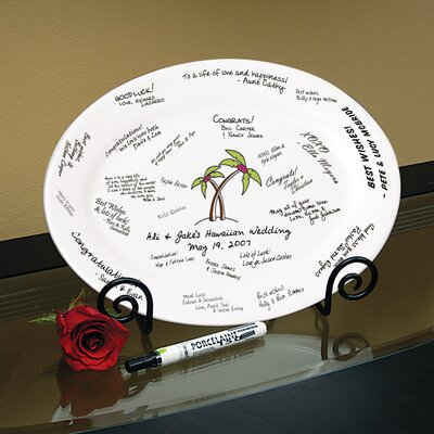 Cathys Concepts Palm Tree Platter