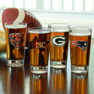 Cathys Concepts NFL Engraved Pint Glass