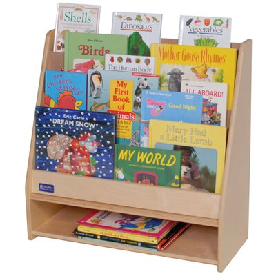 "Steffy Wood Products Toddler 25"" Book Display"