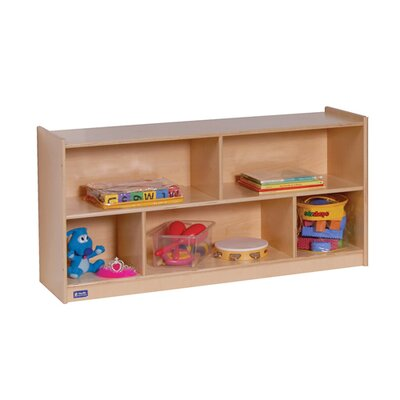 "Steffy Wood Products 24"" Mobile Toddler Storage Unit"