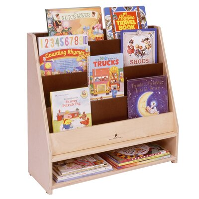 Steffy Wood Products Toddler Book Display Unit