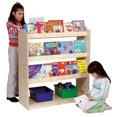 Steffy Wood Products Mobile Book Display Unit