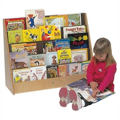 Steffy Wood Products Five Shelf Book Display Unit