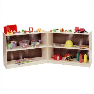 Steffy Wood Products Small Fold and Lock Mobile Storage Unit
