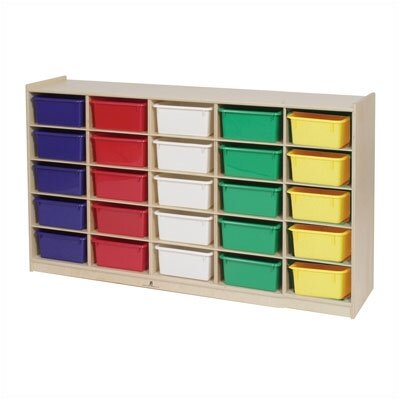 Steffy Wood Products 25-Tray Storage Unit