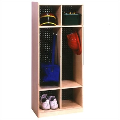 Steffy Wood Products Two Section Locker