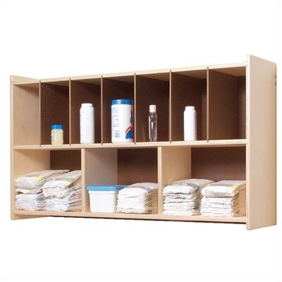 Steffy Wood Products Diaper Wall Shelf
