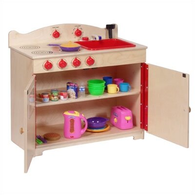 Steffy Wood Products Heirloom 2-in-1 Kitchen