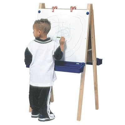 Steffy Wood Products Two Station Whiteboard Easel
