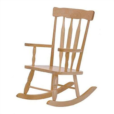 Steffy Wood Products Colonial Kid's Rocking Chair