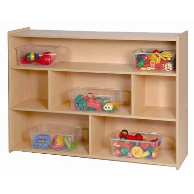 "Steffy Wood Products 35"" High Three Shelf Storage"