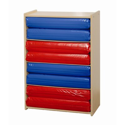 Steffy Wood Products Rest Mat 4 Compartment Cubby