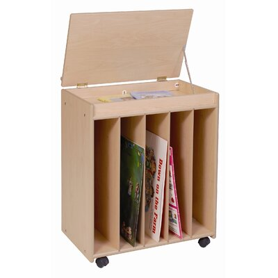 "Steffy Wood Products Big 31"" Book Display"