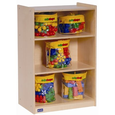 Steffy Wood Products 3 Shelf Mobile Storage
