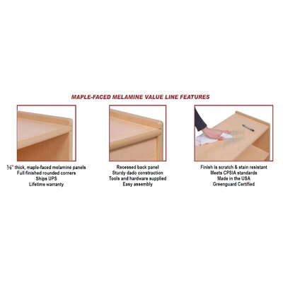 Steffy Wood Products Changing Table
