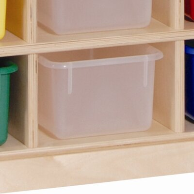 Steffy Wood Products 20 Tray Cubby Storage with Tray