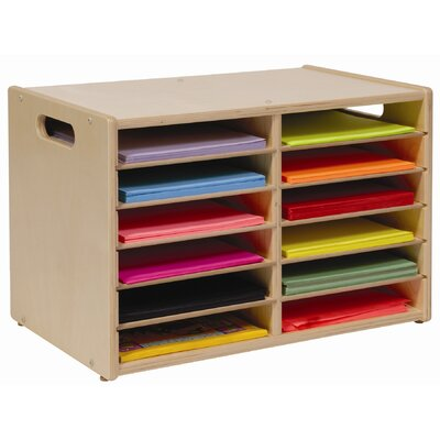 Steffy Wood Products Table Top Storage Center