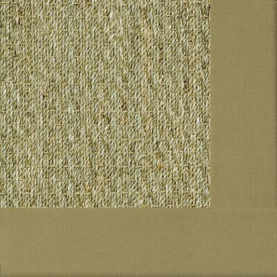 Botanical Blends Spring Green Mist Bordered Rug