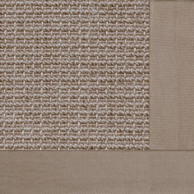 Paradise Retreat Jumbo Boucle Granola Bordered Rug