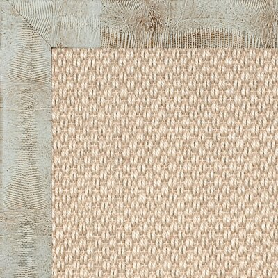 Coastal Classic Sierra Embossed Leather Lizard Winter Bordered Rug
