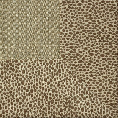 Coastal Classic Sisal Sierra Cheetah Bordered Rug