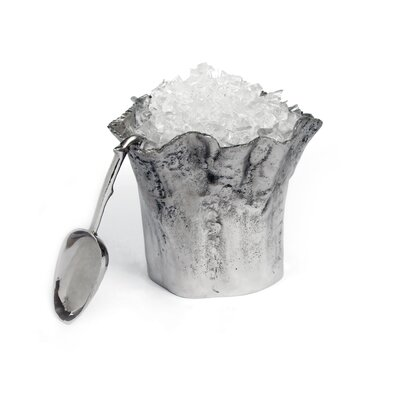 Star Home Artisan Trunk Ice Bucket with Scoop