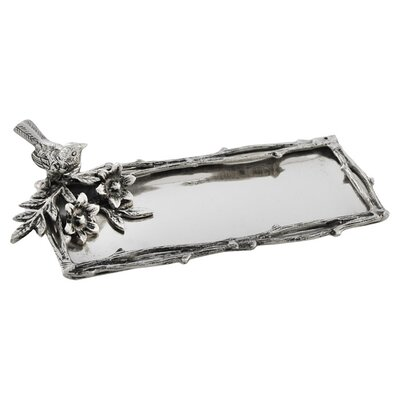 Star Home Bird and Branches Rectangular Serving Tray
