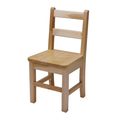 "J.B. Poitras 13"" Small Maple Classroom Glides Chair"