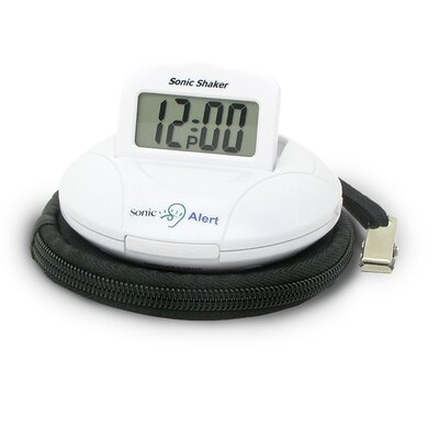 Sonic Boom Portable Vibrating Alarm Clock