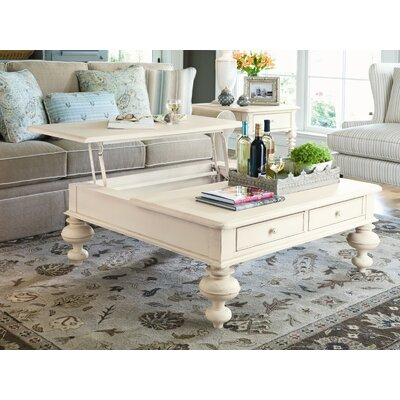 Paula Deen Home Put Your Feet Up Coffee Table With Lift Top Reviews Wayfair