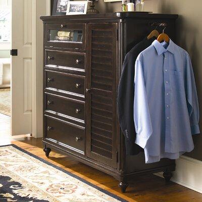 Paula Deen Home Steel Magnolia 4 Drawer Gentleman 39 S Chest Reviews Wayfair