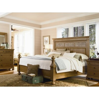 Down Home Aunt Peggy S Panel Bed Wayfair