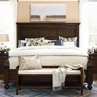 down home aunt peggy 39 s panel bed wayfair