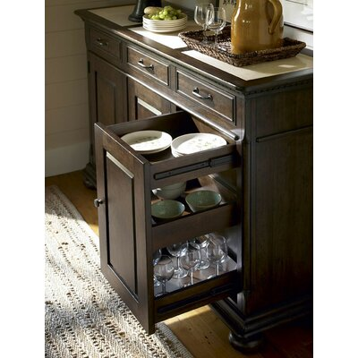 Paula Deen Home Down Home The Hostess Credenza with Hutch