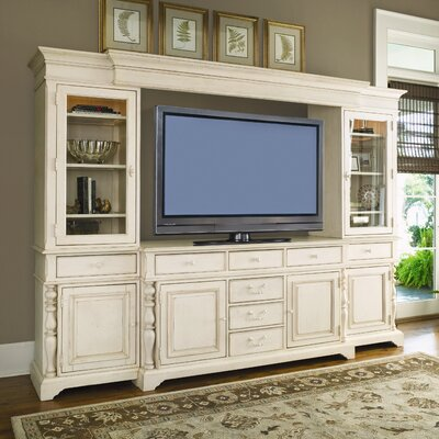 Paula deen home savannah lighted entertainment center Home entertainment center