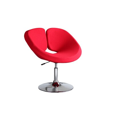 Pluto Adjustable Leisure Fabric Side Chair