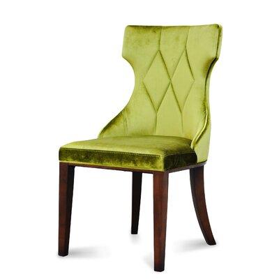 International Design USA Regis Leather Side Chair (Set of 2)