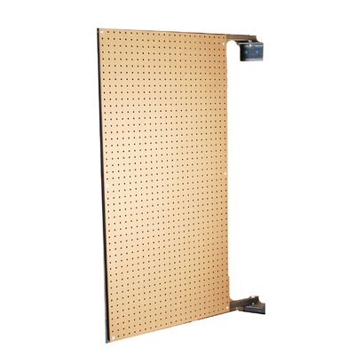 Triton Products XtraWall 24 In. W x 48 In. H x 1-1/2 In. D Wall Mount Double-Sided Swing Panel Pegboard
